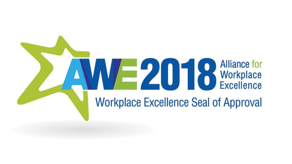 Alliance for Workplace Excellence Award 2018