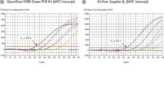 Sensitive two-step RT-PCR.