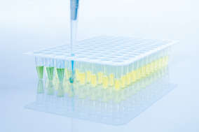 <p>Visual pipetting control.</p>