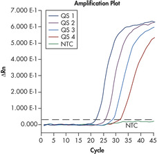 Reliable quantitation of HAV load.