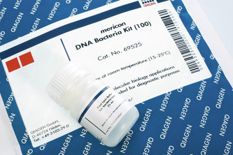 <p>mericon DNA Bacteria Kit.</p>