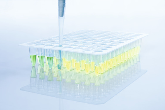 Visual pipetting control.