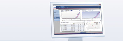 Q-Rex Absolute Quantification Plug-in analysis screen