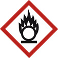 Flame over circle (Risk of combustion