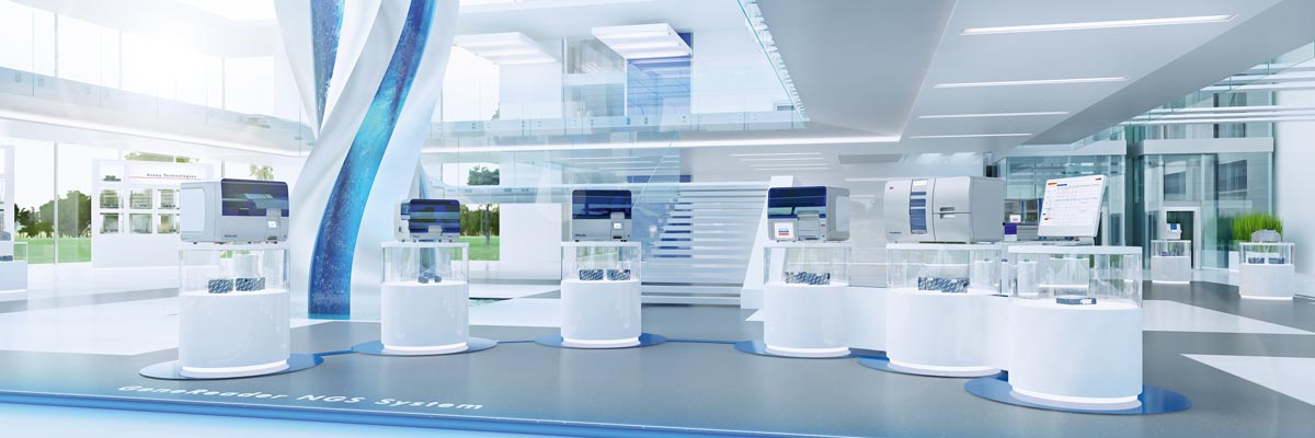 Experience next-generation sequencing in our virtual showroom